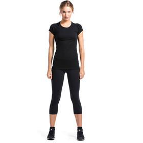 Mons Royale W's Bella Coola Tech Geo T-Shirt Black